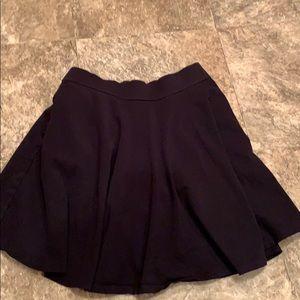 Black girls skirt large